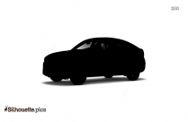 Cartoon Car Front Portion Silhouette
