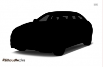 Bmw Car Silhouette Vector Image