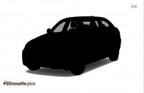 BMW X3 Car Silhouette