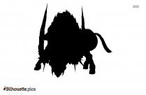 Boar Warrior Silhouette Free Vector Art