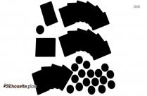 Board Games Vector Silhouette