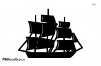 Boat Clip Art Silhouette