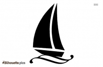 Sailboat Silhouette Free Vector Art