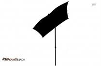 Umbrella Girl Silhouette Vector And Graphics
