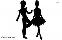 Bollywood Dance Silhouette