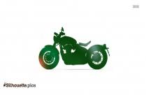 Bonneville Bobber Bike Silhouette