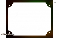Elegant Borders Silhouette Image And Vector