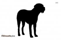 Siberian Husky Dogs Silhouette Background