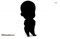 Boss Baby Silhouette Vector