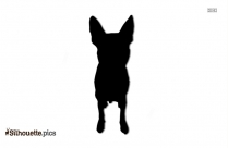 Dog Silhouette Image Free Download