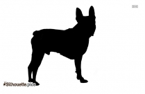 Boston Terrier Silhouette Drawing