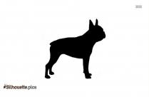 Chesapeake Bay Retriever Dog Breed Silhouette