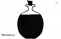Water Bottle Silhouette Clip Art