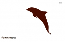 Common Bottlenose Dolphin Silhouette PNG Image