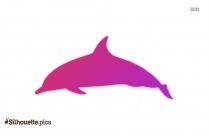 Skipjack Fish Silhouette