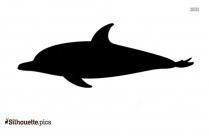 Bottlenose Dolphin Silhouette Free Vector Art