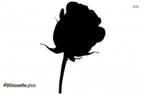 Rose Flower Vector Silhouette Pic
