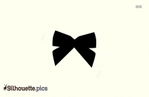 Bow Silhouette Svg