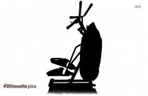 Hack Squat Machine Silhouette