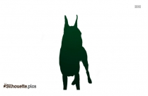 Akita Dog Clipart Silhouette