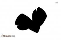 Boxing Glove Black Clip Art Silhouette
