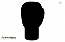 Mma Gloves Silhouette Free Vector Art