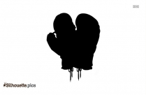 Boxing Gloves Silhouette Icon