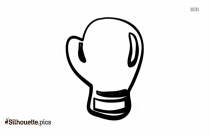 Gloves Silhouette Icon