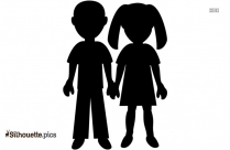 Boy And Girl Clipart Png Vector