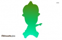 Baby Boy Silhouette Image