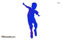 People Cheering Silhouette Clipart