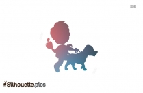 Puppy Silhouette Png Image