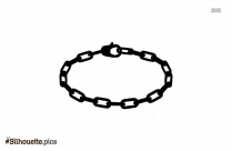Hoop Earrings Silhouette Image And Clipart