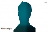 Brad Pitt Silhouette Image Vector