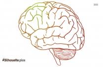 Brain Clip Art Silhouette
