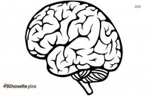 brain silhouette clip art