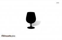 Champagne Glass Clipart Silhouette