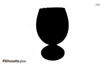 Wine Glass Silhouette Vector Free