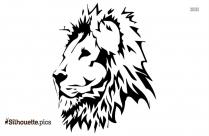 Brave Lion Art Silhouette Clip Art