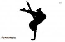 Break Dancer Silhouette
