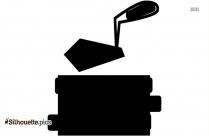 Wheelbarrow Silhouette Illustration