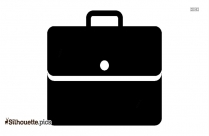 Briefcase Filled Icon Silhouette