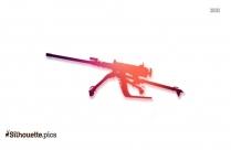 Browning Pistol Clip Art Vector Image