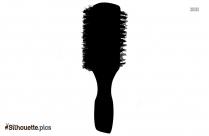 Square Thermal Brush Silhouette