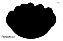 Black And White Carrot Drawing Silhouette