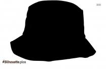 Trucker Hat Silhouette Image