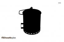 Bucket Silhouette