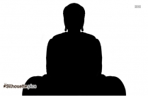 Praying Hands Silhouette Vector Free