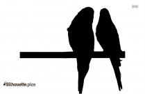 Cockatoo Bird Silhouette