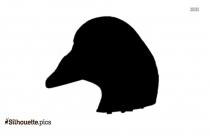 Bufflehead Silhouette Clip Art